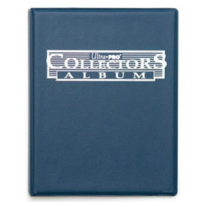 Portfolio Ultra-pro - collectors album (90 cases - bleu)