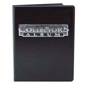Portfolio Ultra-pro - collectors album (90 cases - noir)