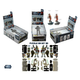 Puzzle 3D - Star wars : Kit de construction de figurines