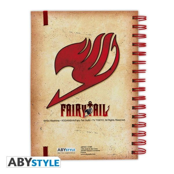 Cahier Fairy tail : groupe