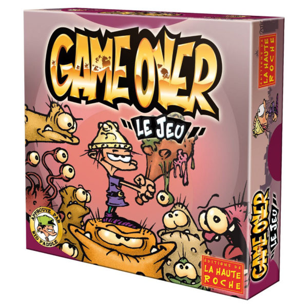 Jeu de société - Game over