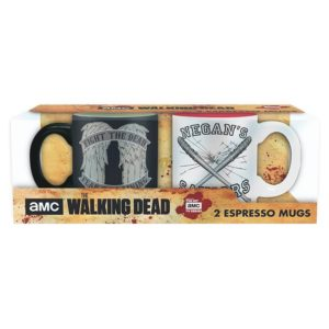 Mini-mugs Walking dead : Daryl vs Negan (110ml)