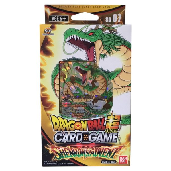 Dragon ball super - Starter deck 7 : Shenron's advent