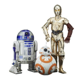 Figurine Star Wars pack de 3 statuettes