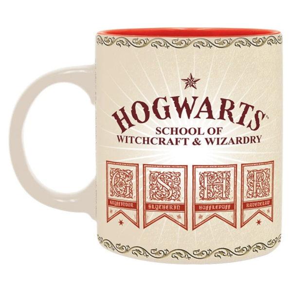 Coffret Harry Potter (mug, porte-clés, cahier)