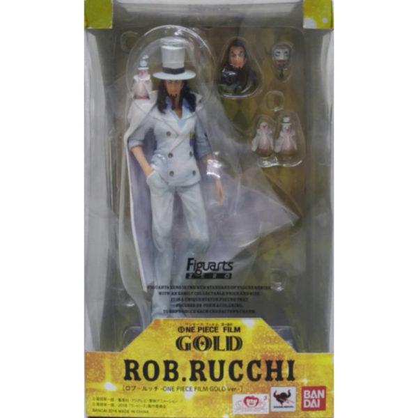 Figurine One Piece : Figuarts Zero Film Gold Rob Lucci