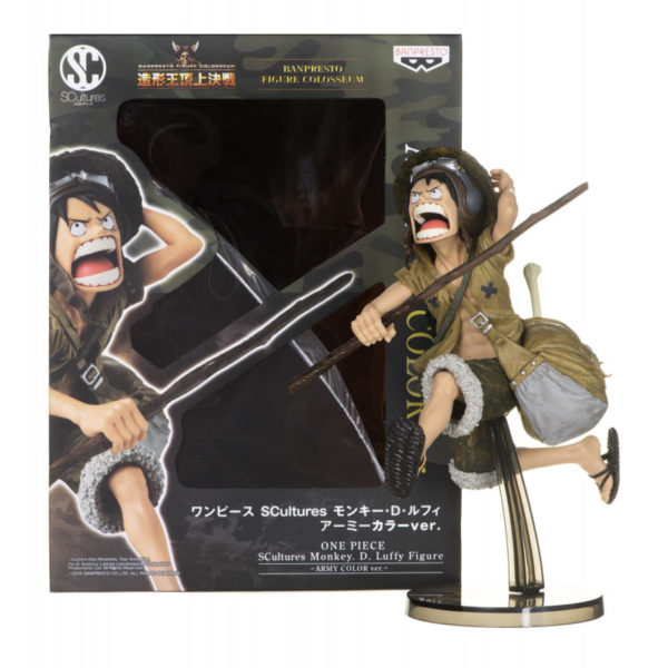 Figurine One Piece : Scultures Big Zoukeio Monkey D. Luffy Special Coloring