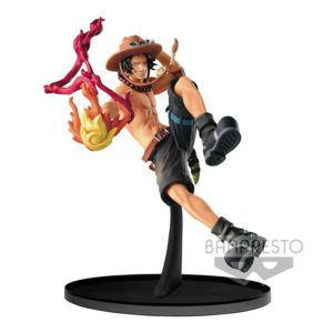 Figurine One Piece : Scultures Big Zoukeio Portgas D Ace Special