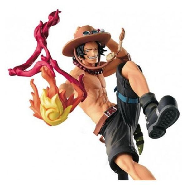 Figurine One Piece : Scultures Big Zoukeio Portgas D Ace Special