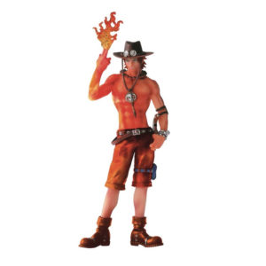 Figurine One Piece : Scultures Portgas D Ace Burning Color