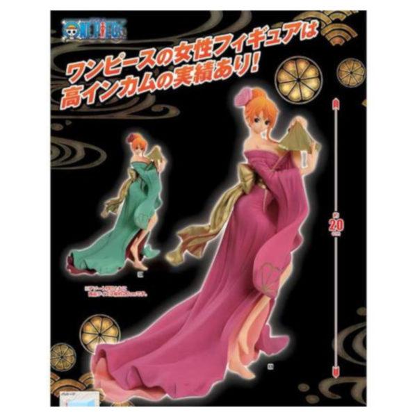 Figurine One Piece : Waso Komachi Serie Nami