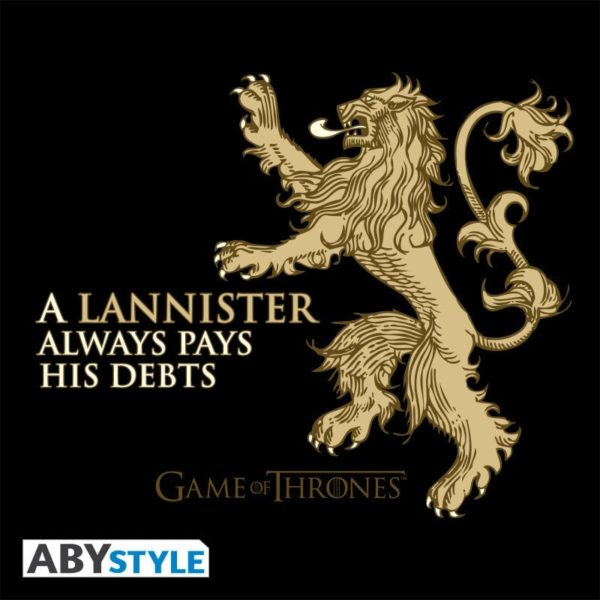 T-shirt Game of thrones : Lannister