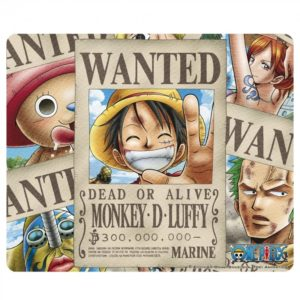 Tapis de souris One Piece : Wanted pirates