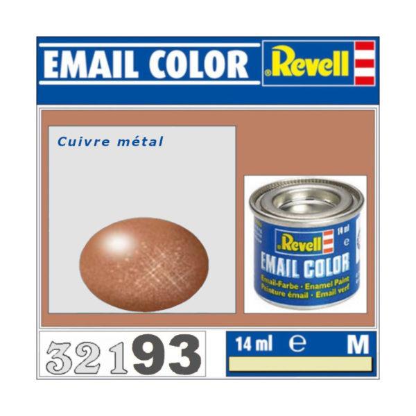 Peinture Revell - Cuivre métal