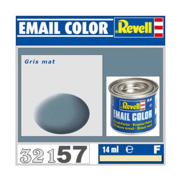 Peinture Revell - Gris mat