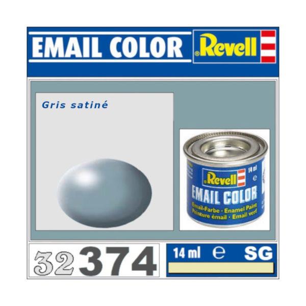 Peinture Revell - Gris satiné