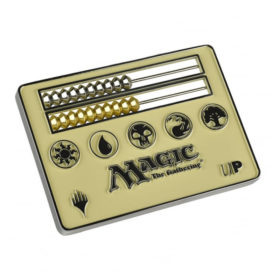 Magic The Gathering - Card Size Abacus Life Counter blanc