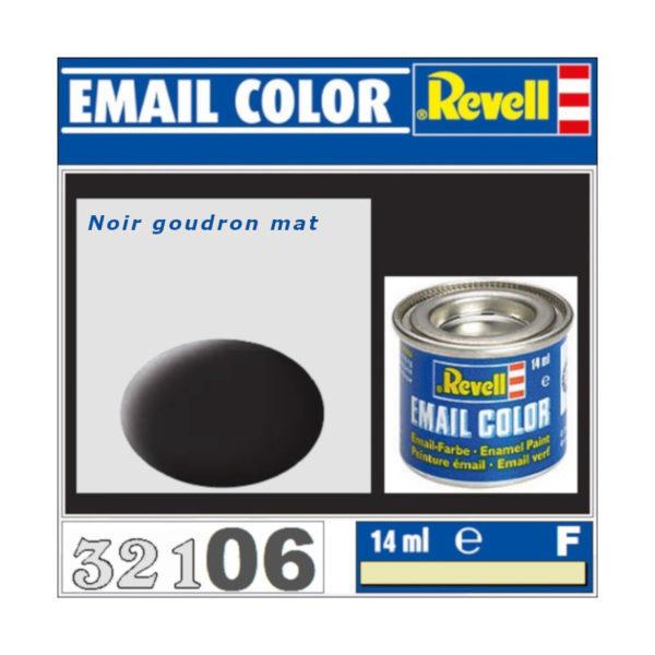 Peinture Revell - Noir goudron mat