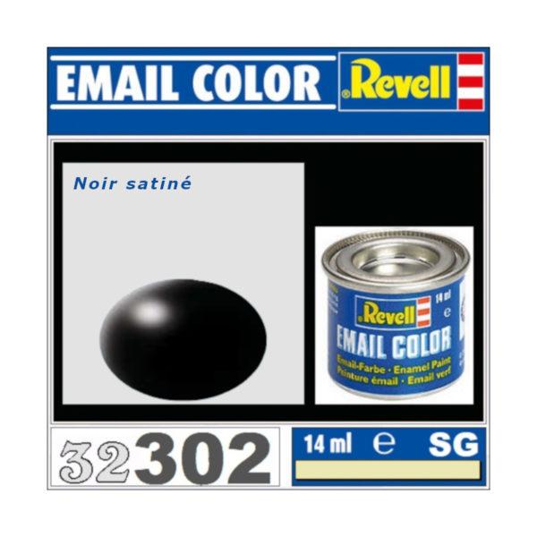 Peinture Revell - Noir satiné