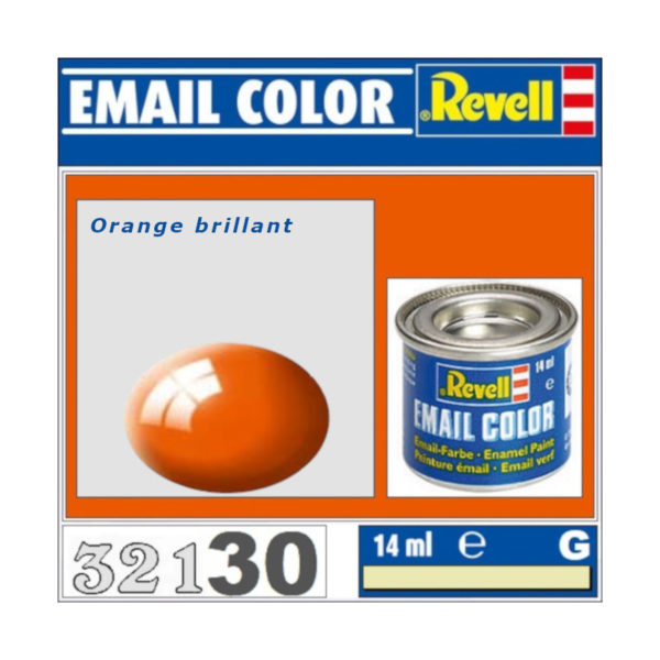 Peinture Revell - Orange brillant