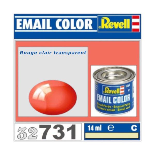 Peinture Revell - Rouge clair transparent
