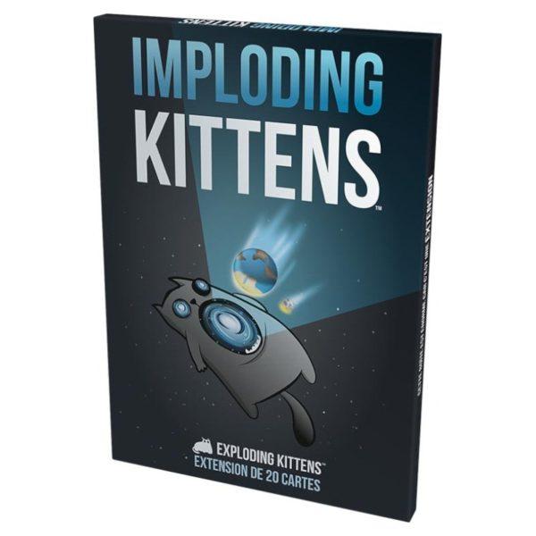 Jeu de société - Exploding kitten : Imploding kittens (extension)