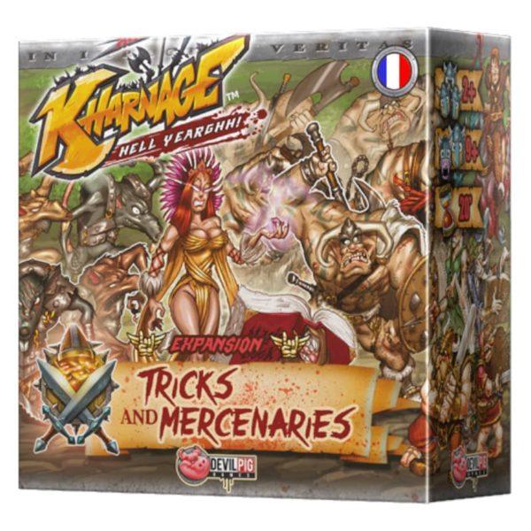 Jeu de société - Kharnage : Tricks & mercenaires (extension)