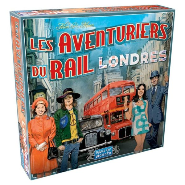 Jeu de société - Les aventuriers du rail Londres