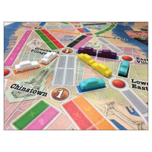 Jeu de société - Les aventuriers du rail New York