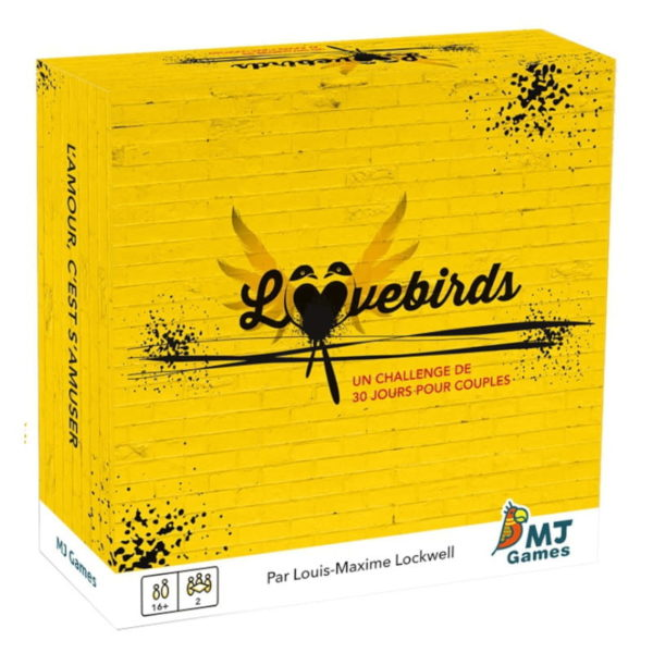 Jeu de société - Lovebirds