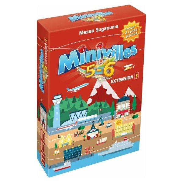 Jeu de société - Minivilles : extension 5-6 joueurs (extension)