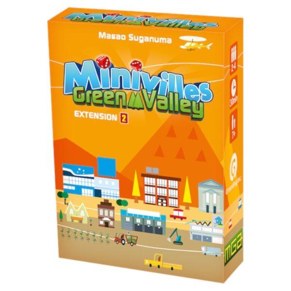 Jeu de société - Minivilles : green valley (extension)
