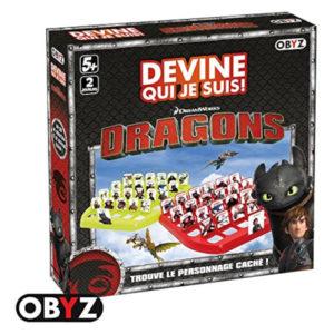 Jeu de société - Dragons : devine qui je suis !