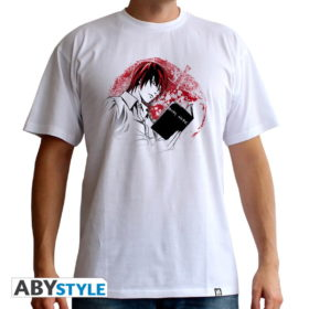 T-shirt Death note : Light