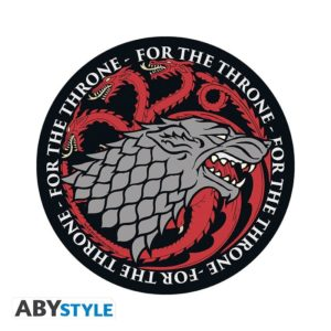 Tapis de souris Game of thrones : Stark & Targaryen