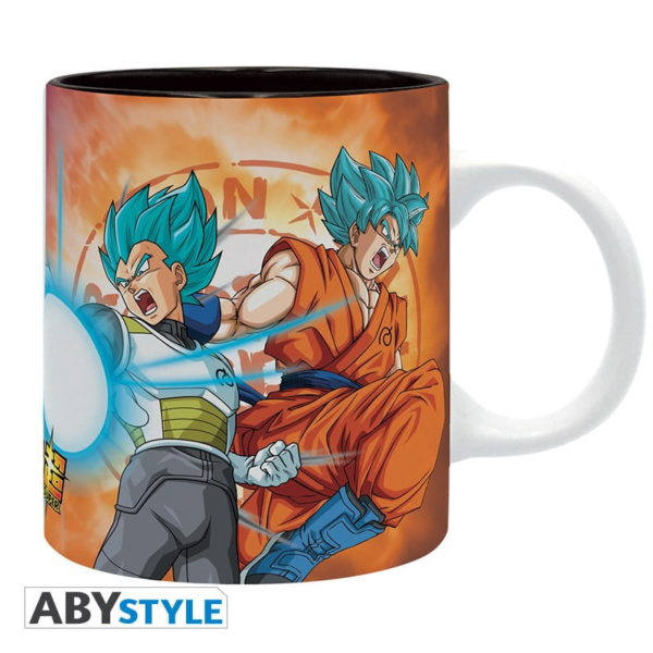 Mug Dragon ball Super : Saiyans vs Freezer (320ml)