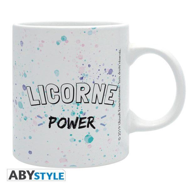 Mug Lapins Crétins : Licorne (320ml)