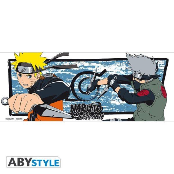 Mug Naruto shippuden : Naruto et Kakashi (320ml)