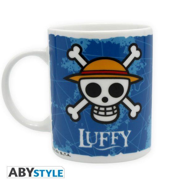 Mug One piece : Luffy et Emblem (320ml)
