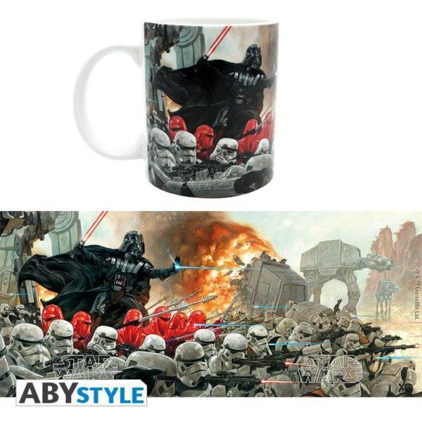 Mug Star Wars : Bataille - Empire (320ml)