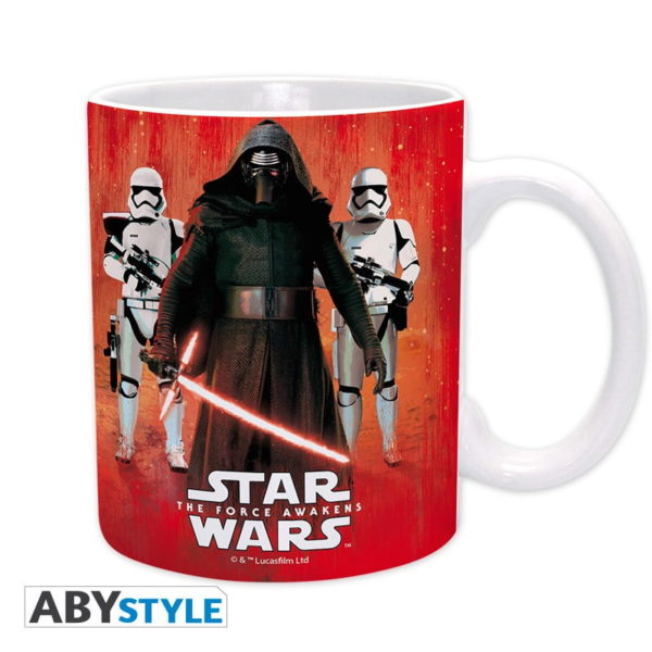 Mug Star Wars : Kylo Ren et Troopers (320ml)