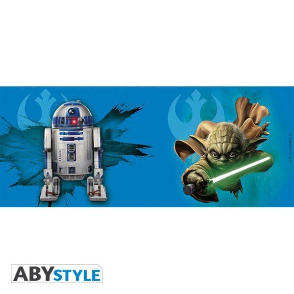Mug Star Wars : Yoda et R2-D2 (320ml)