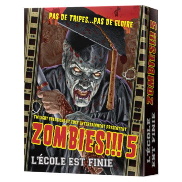 Jeu de société - Zombies !!! 5 : l'école est finie (extension)