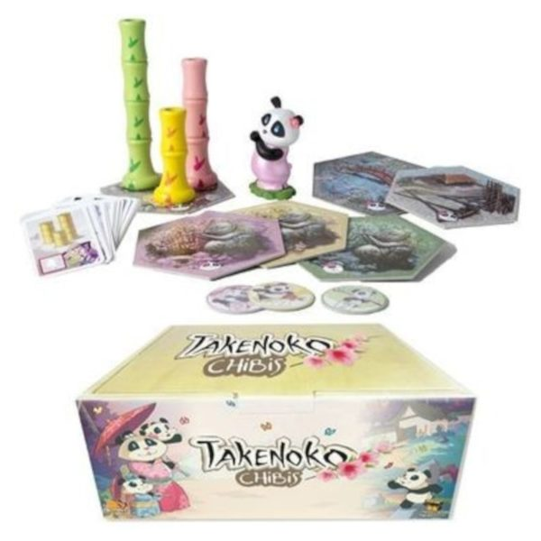 Jeu de société - Takenoko : chibis (extension)