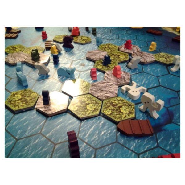 Jeu de société - The island : strikes back (extension)