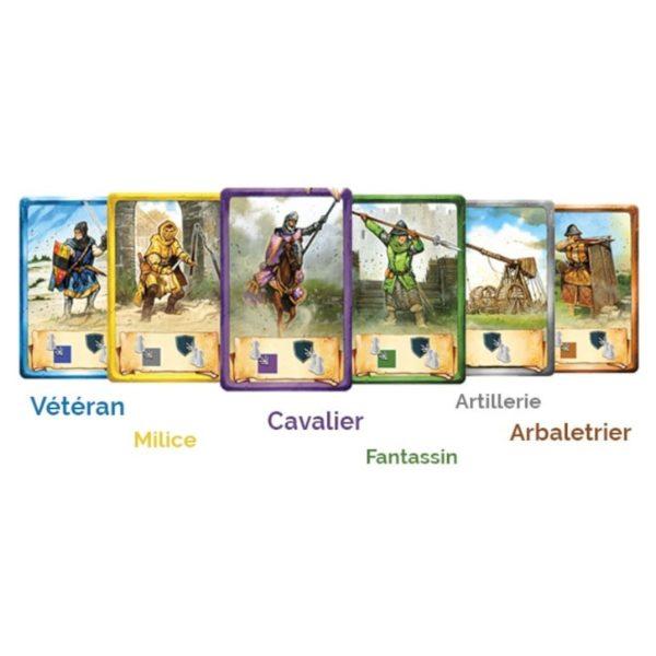Jeu de société - Jeanne d'Arc : la bataille d'Orléans