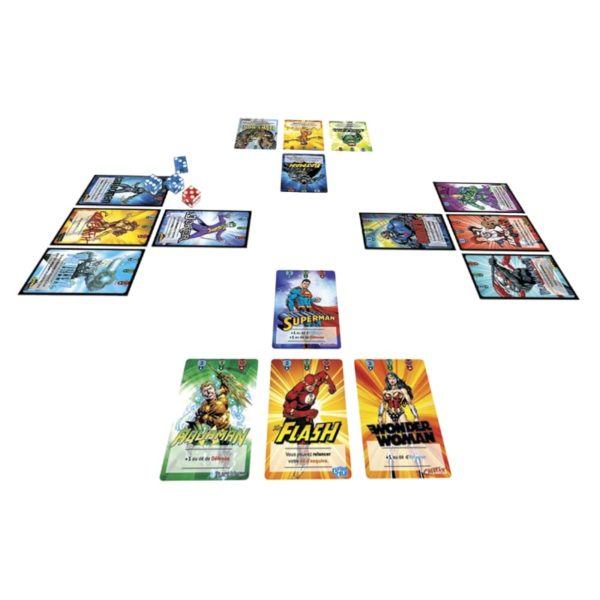 Jeu de société - Justice league ultimate battle cards