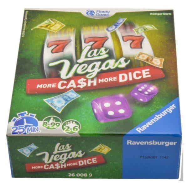 Jeu de société - Las Vegas : more cash, more dice (extension)