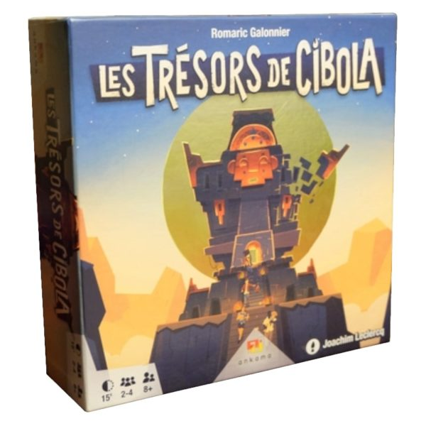 Jeu de société - Les trésors de Cibola