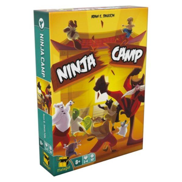 Jeu de société - Ninja camp